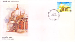 India First Day Cover 13.02.1989 - Dargah Sharif, Ajmer, Tomb Of Sufi Saint Khwaja Moinuddin Hasan Chisti - FDC