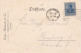 Germany; Infla Card 24/3 1921 - Alemania