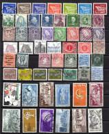 Irlande Lot De 95 Timbres Oblitérés Toute époque, Taxe, Europa, Voir Scan - Colecciones & Series
