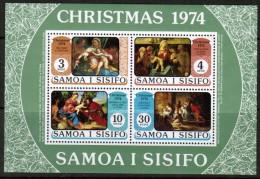 SAMOA   Scott # 407-10a**  VF MINT NH Souvenir Sheet - Samoa