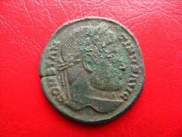Monnaie Romaine - Constantin 1er (307-337) - Nummus 20mm 2g - TTB - 7. The Christian Empire (307 AD To 363 AD)