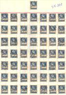 3n-888: 50 Double Stamps - Timbres Doubles:  N° 205: 30 C. - Gebruikt