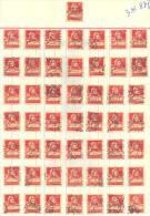3n-887: 50 Double Stamps - Timbres Doubles:  N° 202: 20 C. - Gebruikt