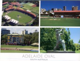 (316) Australia - SA - Adelaide Oval And Don Bradman Statue - Stadien