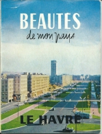 76 Le HAVRE -  Livret  (Pub  ESSO) De 1959  11 X 15 , 40 Pages , 4  Scans - Maps/Atlas