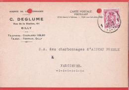 CP commerciale  GILLY  Rue de la Station, 61 C.DEGLUME Agence de Charbonnages