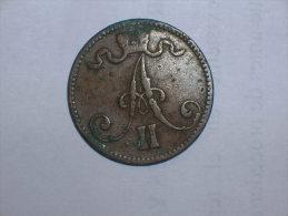 Finlandia 5 Pennia 1866 (5118) - Finlandia