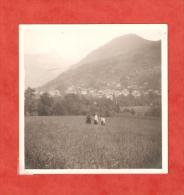 Vue De Saint Gervais  Photographie Originale De 1911   9 Cm X 9 Cm - Non Classés
