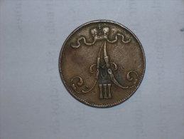 Finlandia 5 Pennia 1889 (5120) - Finlandia