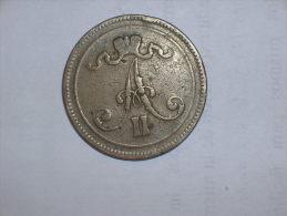 Finlandia 10 Pennia 1865 (5128) - Finlandia