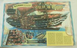 VALMY French Navy, Warship, Navire De Guerre, Bateau Vapeur, Sailboat, Steamship, Sailing Ship Voilier Segelboot Dampfer - Boats