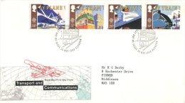 (517) UK Europa FDC Cover 1988 - Europa-CEPT