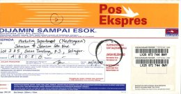 (517)  Malaysia Expres Post Cover Posted Within Malaysia - 2007 - Malaysia (1964-...)