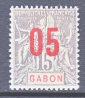 GABON  74  * - Ongebruikt