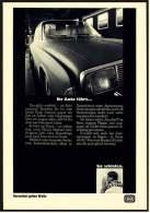 Reklame Werbeanzeige  - DB  Deutsche Bahn  -  Ihr Auto Fährt... Im Autoreisezug  -  Von 1968 - Transport