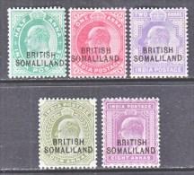 SOMALILAND  21-6  * - Somaliland (Protectorate ...-1959)