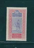 Colonie Timbres  Du Haut Senegal Et Niger  N°27  Neuf * - Haut-Sénégal Et Niger (1904-1921)