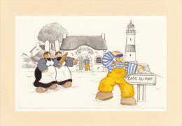 Thematiques Mam Goudig Illustrateur Jean Paul David Cafe Du Port Phare Marin - Cafés