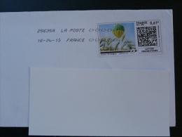 Timbre En Ligne Sur Lettre (e-stamp On Cover) TPP 2308 Agriculture Blé Wheat Montgolfière Balloon - Landbouw