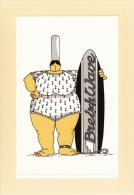 Thematiques Mam Goudig Illustrateur Jean Paul David Breiz Wave Surf Maillot Au Couleur De La Bretagne - Autres