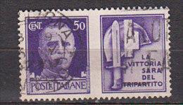 PGL ITALIA REGNO PROPAGANDA DI GUERRA SASSONE N°12 - 1900-44 Victor Emmanuel III