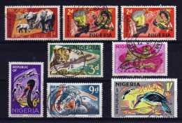 Nigeria - 1969/71 - Definitives (Part Set) - Used - Nigeria (1961-...)