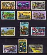 Nigeria - 1973/74 - Definitives (Litho Printing, Part Set) - Used - Nigeria (1961-...)