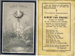 B.P. KIND  VAN POUCKE ALBERT LOKEREN HEYENDE 1-6-1915 - 22-7-1918 - Religion & Esotérisme