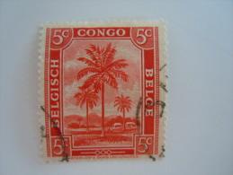 Belgisch Congo Belge 1942 Palmier Palmboom  Yv 228 O - 1923-44: Oblitérés