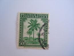 Belgisch Congo Belge 1942 Palmier Palmboom Yv 234 O - 1923-44: Oblitérés