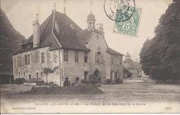 8263 - Salins-les-Bains Le Bureau De La Direction De La Saline - Altri Comuni