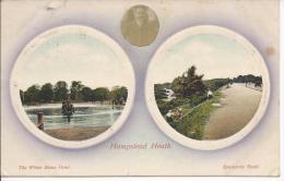 8268 - Hamstead Heath The White Stone Pond Sapaniards Road - London