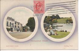 8269 - Hamstead Heath Jack Straw's Castle Bathing Pond - London