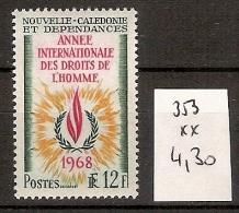 Nouvelle Calédonie 353 ** Côte 4.30 € - New Caledonia
