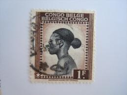 Belgisch Congo Belge 1942  Yv 257 O - 1923-44: Oblitérés