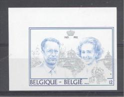 BELGIE - OBP Nr 2198 - ONGETAND/NON-DENTELE (met Nr./avec Numéro) - Boudewijn-Fabiola - MNH**  - Cote 40.00 € - Belgique
