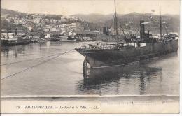 8275 - Philippeville Le Port Et La Ville - Autres Villes