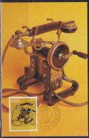 2236. Yugoslavia, 1978, Telephone, CM - Cartoline Maximum