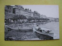GENEVE. Le Grand Quai. - GE Ginevra