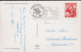 Kleinwalsertal Hirschegg Sondertarif MWSt Kte N Dortmund 1961 - 1961-70 Covers