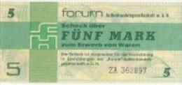 ALLEMAGNE / GERMANY / DDR - FORUMSCHECK - 5 MARK 1979 - / Pick FX3 - SERIE ZA - [ 4] 1933-1945 : Third Reich