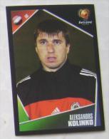 ALEKSANDRS KOLINKO LATVIA #255 PANINI STICKER 2004 UEFA EURO SOCCER CHAMPIONSHIP PORTUGAL FUSSBALL FOOTBALL - English Edition