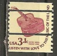 USA. Scott # 1613a,18,18c,25 Used. Coil Definitive Issue. 1979 - Francobolli In Bobina