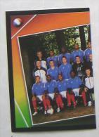 TEAM FRANCE PART 1 #91 PANINI STICKER 2004 UEFA EURO SOCCER CHAMPIONSHIP PORTUGAL FUSSBALL FOOTBALL - Panini