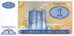 Azerbaijan 1 Manat 1993  Pick 14 UNC - Aserbaidschan