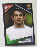 GIORGIOS KARAGOUNIS GREECE #45 PANINI STICKER 2004 UEFA EURO SOCCER CHAMPIONSHIP PORTUGAL FUSSBALL FOOTBALL - Panini
