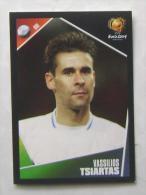VASSILIOS TSIARTAS GREECE #42 PANINI STICKER 2004 UEFA EURO SOCCER CHAMPIONSHIP PORTUGAL FUSSBALL FOOTBALL - Panini