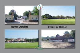 MONTLUCON Stade Stadium Stadio - Montlucon
