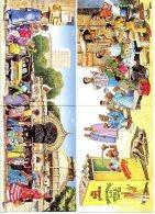 MOHISS - Lot De 3 Cartes Doubles    ( Dessins Du Sénégal ) - Illustrateurs & Photographes