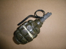 Grenade Mle F1 Défensive Verte Pays De L'est (inerte) - Equipement